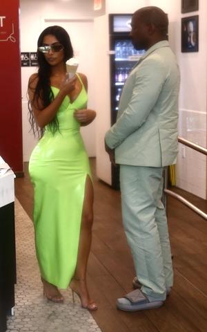 Kanye West Schlapfen