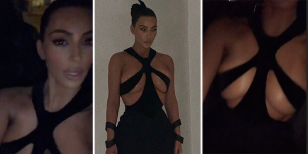 Kim, wie hält denn DIESES Kleid?