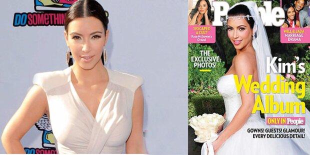 Kim zeigt ihr Hochzeits-Album