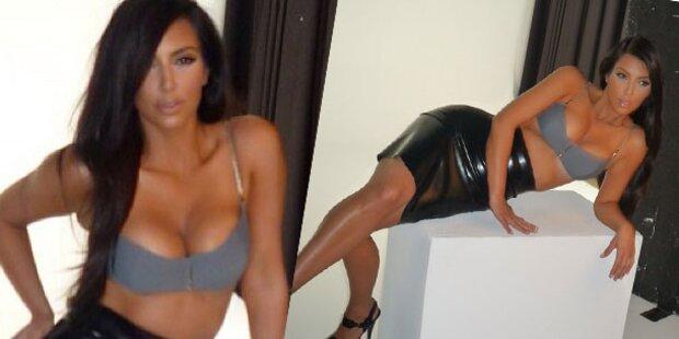 Schwangere Kim zeigt sich verboten sexy