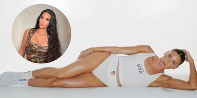 Kim Kardashian statt US-Sportler bei Olympia mit Unterwäsche aus