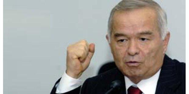 Karimow gewann Wahl in Usbekistan mit über 88%