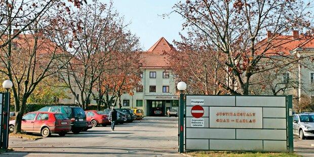 Junger Häftling ergriff nach Spitalsaufenthalt die Flucht