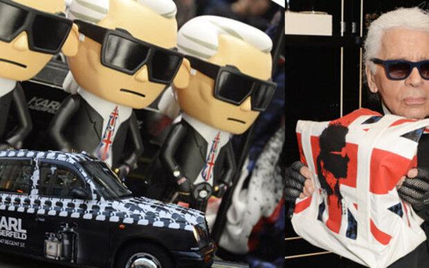 Der Karl Lagerfeld-Store