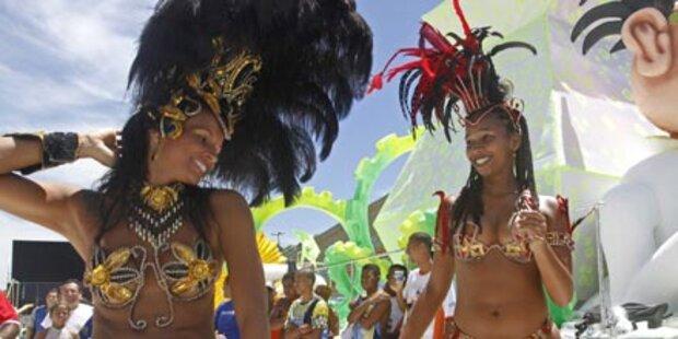 So sexy feiert Rio den Karneval