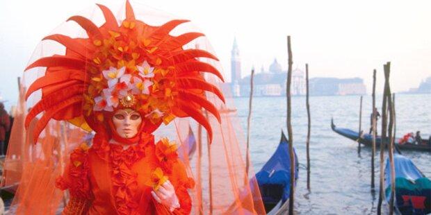 Auf zum Karneval nach Venedig