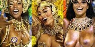 So heiss ist der Karneval von Rio