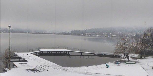 In Kärnten fällt endlich Schnee