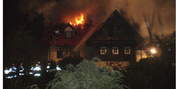 Haus von Kartnigs Ex-Gattin abgebrannt