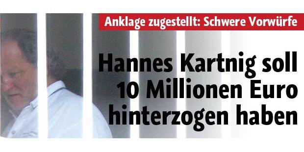 Kartnig soll 10 Mio Euro hinterzogen haben