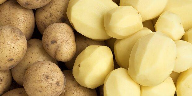 Nie wieder Kartoffelschälen - so geht's