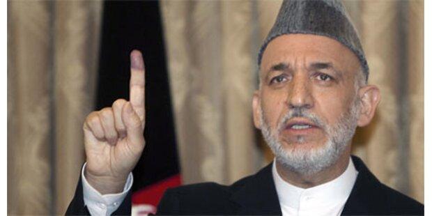 Wahlbetrug in Afghanistan so gut wie fix