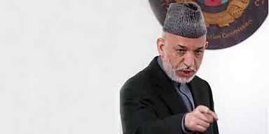 Karzai gibt Ausland Schuld am Wahlbetrug