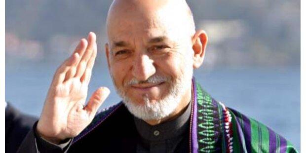 Karzai sagt für Sicherheitskonferenz zu