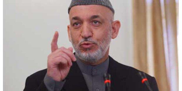 Afghanistan-Präsident zur Ordnung gerufen