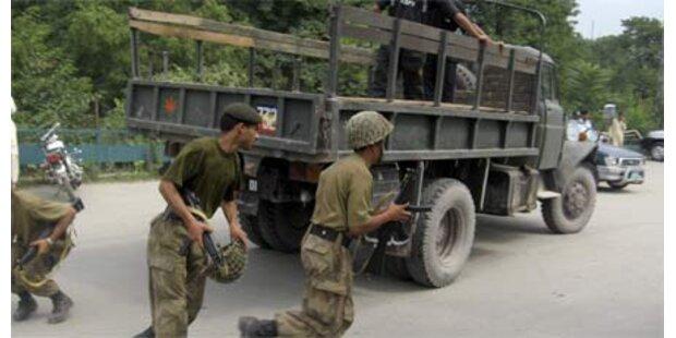 Kaschmir wird zur Krisen-Region