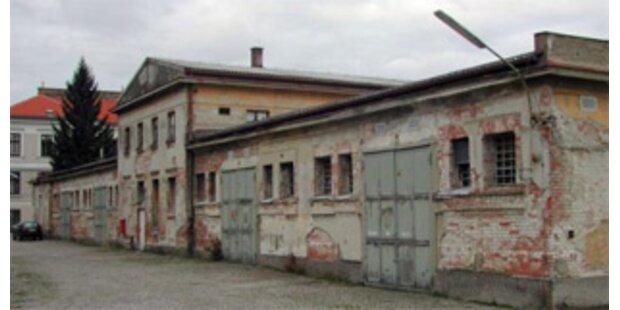 In Kasernen schaut's aus