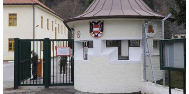 Soldatensohn erschießt sich in Kaserne