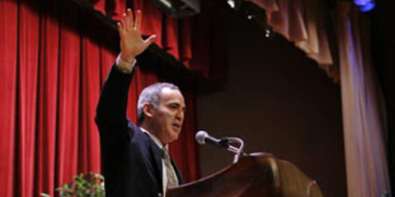 Kasparow fordert zum Wahl-Boykott in Russland auf