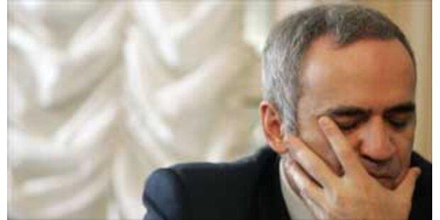 Kasparow darf nicht an Duma-Wahl teilnehmen