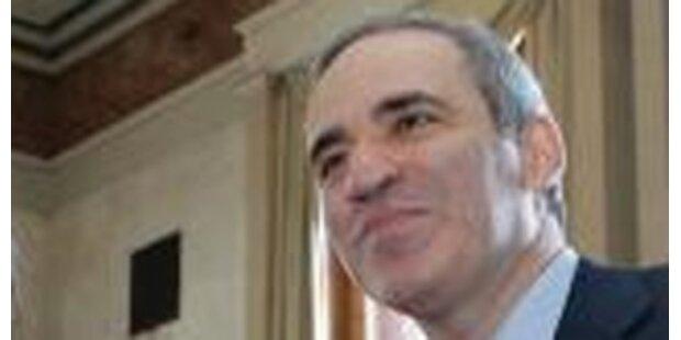 Garri Kasparow will russischer Präsident werden