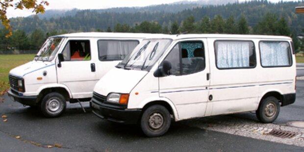 Polizei stoppte zwei Autowracks auf A2