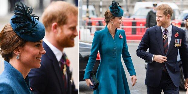 Harry begleitet Kate: Baby Sussex noch nicht da