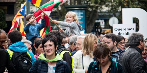 Riesiger Protest gegen spanische Regierung