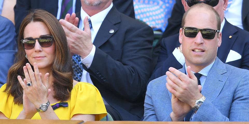 Kate William Tennis Wimbledon