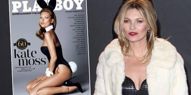 Kate Moss: Sexy Playboy-Cover enthüllt