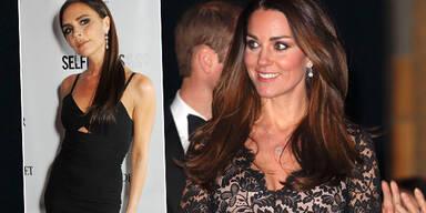 Kate freundet sich mit Vic Beckham an