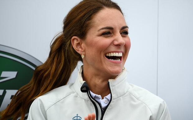 Sporty Kate: Mit dieser Übung hält sie sich fit