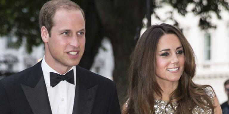 William & Kate: Mega-Party im Palast