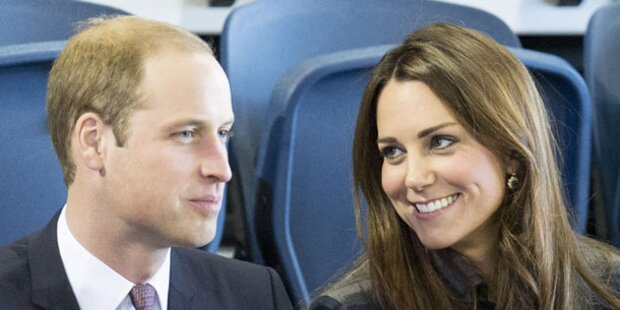 Kates Baby bekommt italienische Nanny