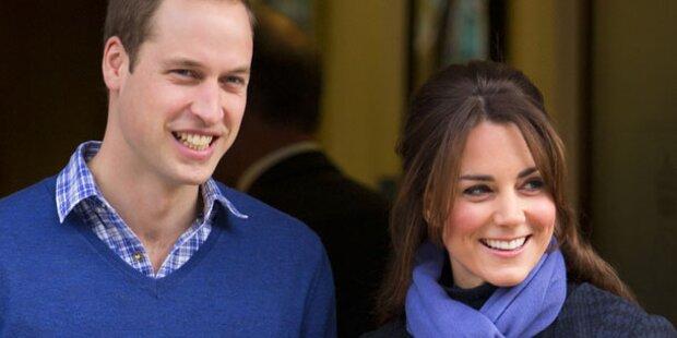 Kate & William: Liebes-Urlaub in Paris