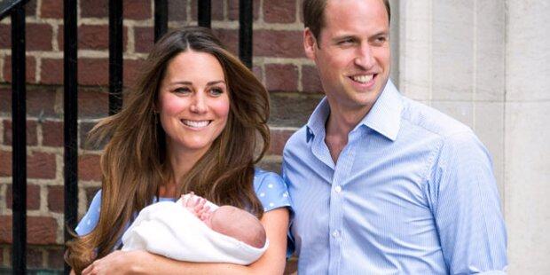 Kate: Sie stillt ihren Baby-Prinzen