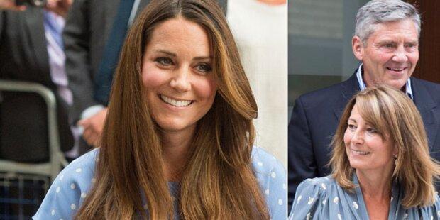 Kate: Ihre Eltern ziehen in den Palast
