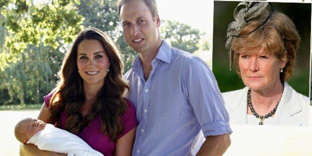 William: Mit George bei Dianas Familie