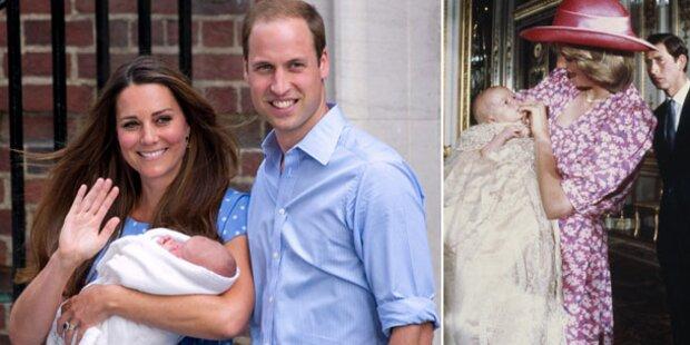 Das Taufkleid von Prinz George