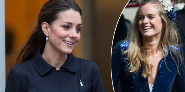 Kate: Freundet sie sich doch mit Cressida an?