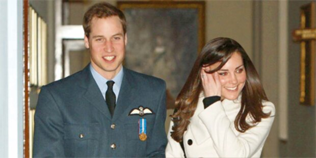 So schnappte sich Kate ihren William