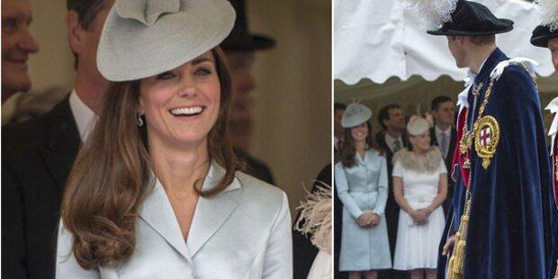 Kate: Bezauberndes Lächeln für ihren Will