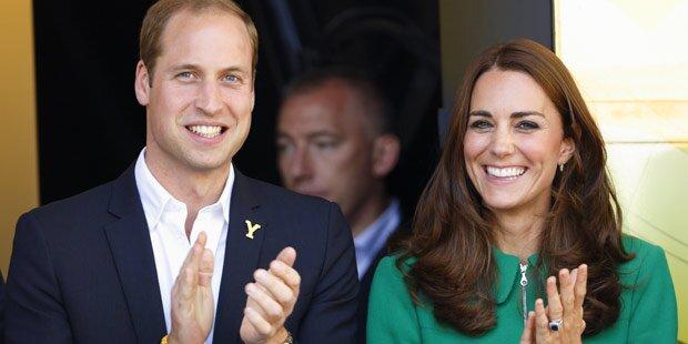Herzogin Kate erwartet zweites Kind