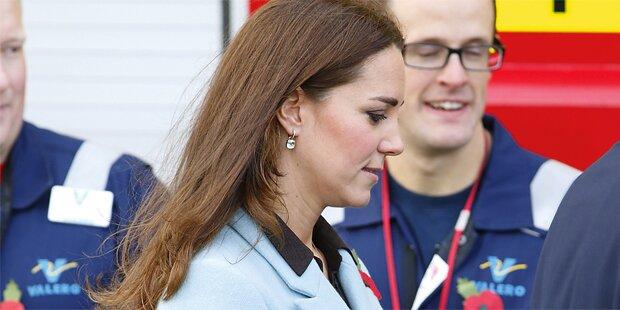 Kate: Erst übel, jetzt traurig