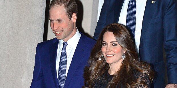 Kate & Will verzaubern New York