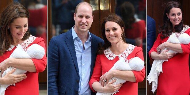 Nach Geburt: Alle staunen über Kate