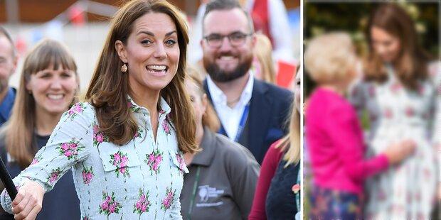 Beweist dieses Foto, dass Kate wieder schwanger ist?