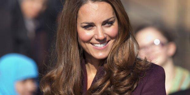 Babygerüchte um Kate zurückgezogen