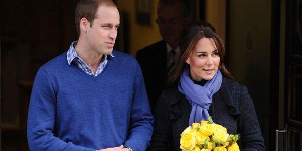 Kate: Weihnachten ohne Prinz William?