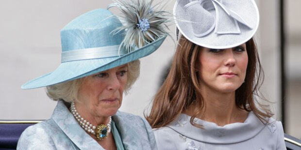 Ausspioniert? Kate verdächtigt Camilla